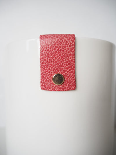 Martin & Cox Pot with Textured Pink Strap