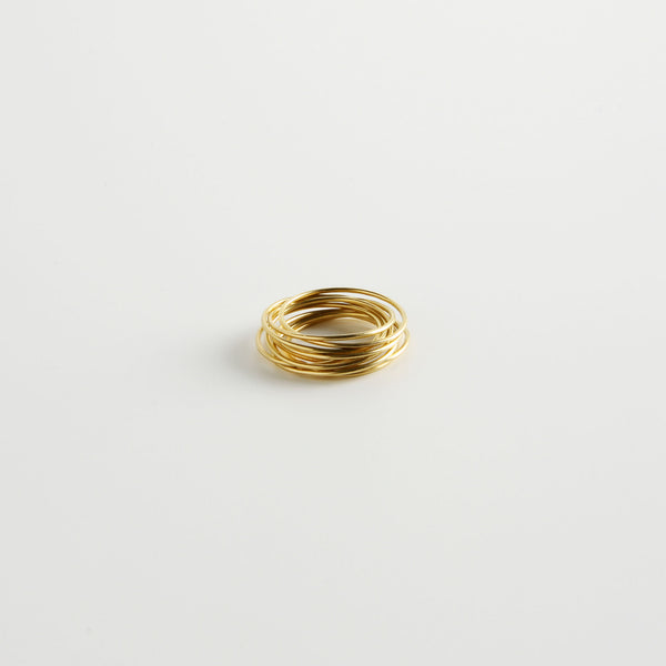 minrl rings bracelet yellow gold