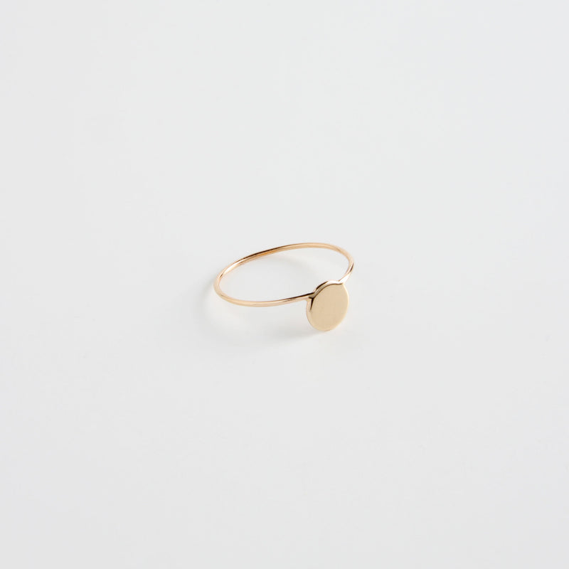 minrl shapes rings red gold fullmoon
