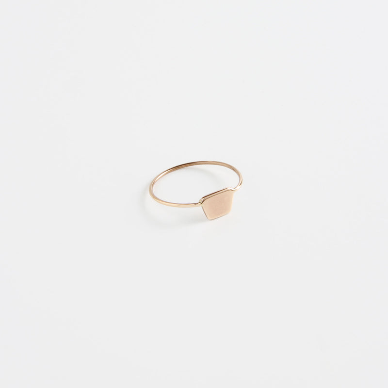 Shapes Ring Full Trapezoid