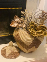 Load image into Gallery viewer, Beautiful Sweet Grass Storage Basket - Ndella