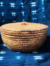 Load image into Gallery viewer, Dyed Banana Leaves Brown Bowl - Kaba