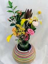 Load image into Gallery viewer, Multi Colored Decorative Pot - May (2 sizes)