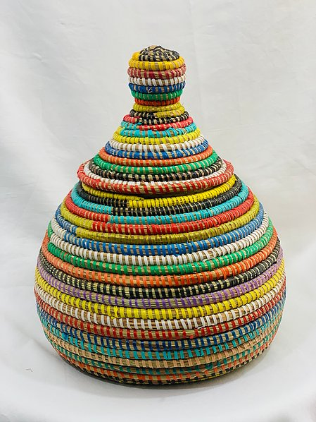 Multi Colored Decorative Pot - May (2 sizes)