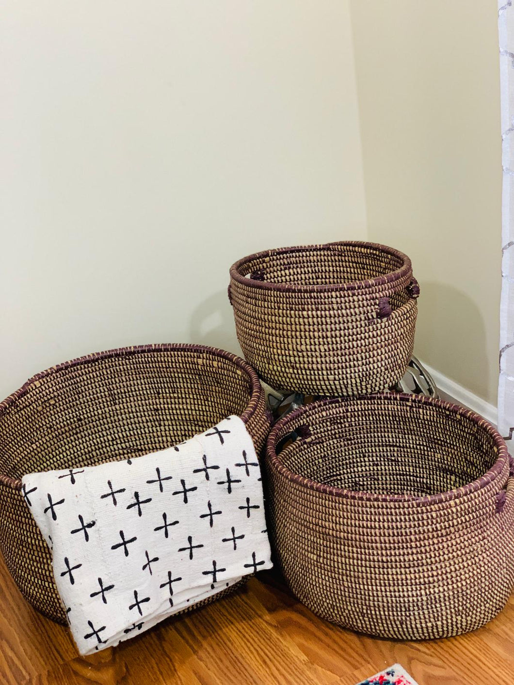 Brown Storage Basket - Fatu