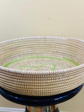 Load image into Gallery viewer, White and Green Sweet Grass Bowl - Lalla