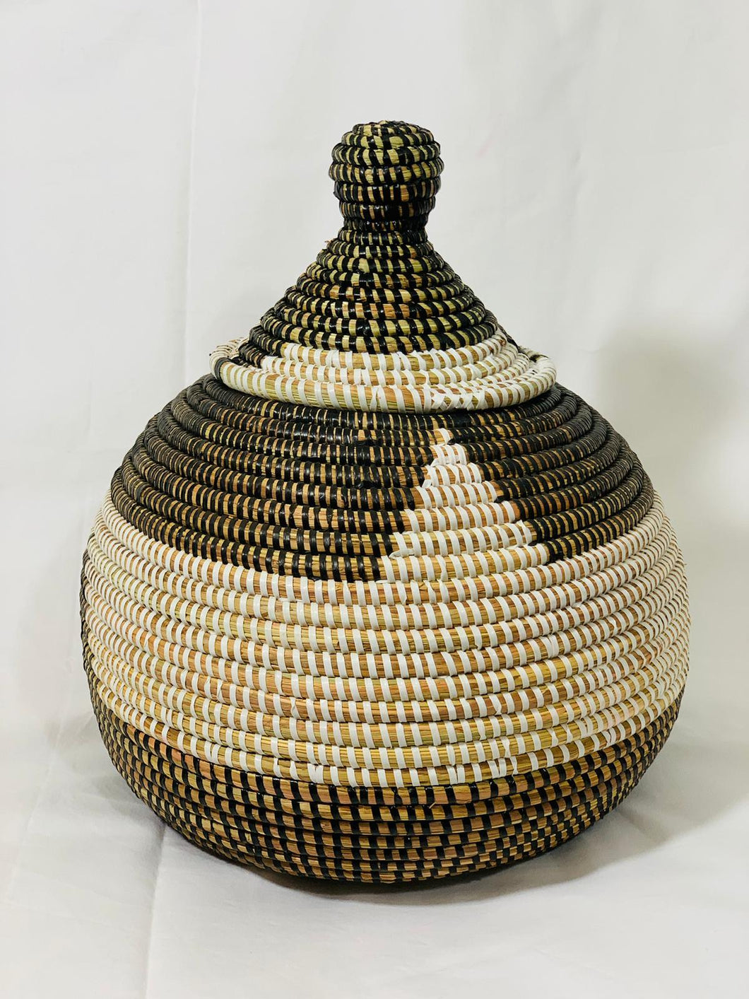 Two tones Sweet Grass Decorative Pot - Codu (4 colors)