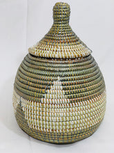 Load image into Gallery viewer, Two tones Sweet Grass Decorative Pot - Codu (4 colors)