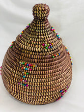 Load image into Gallery viewer, Beaded Sweet Grass Coffer - Yawa (4 colors)