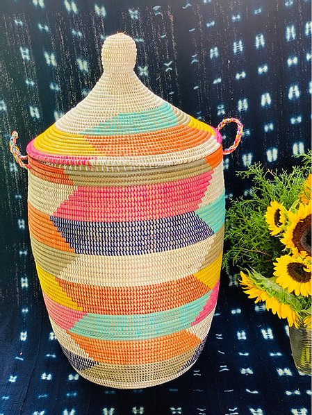 Multicolored Storage Basket - Fama