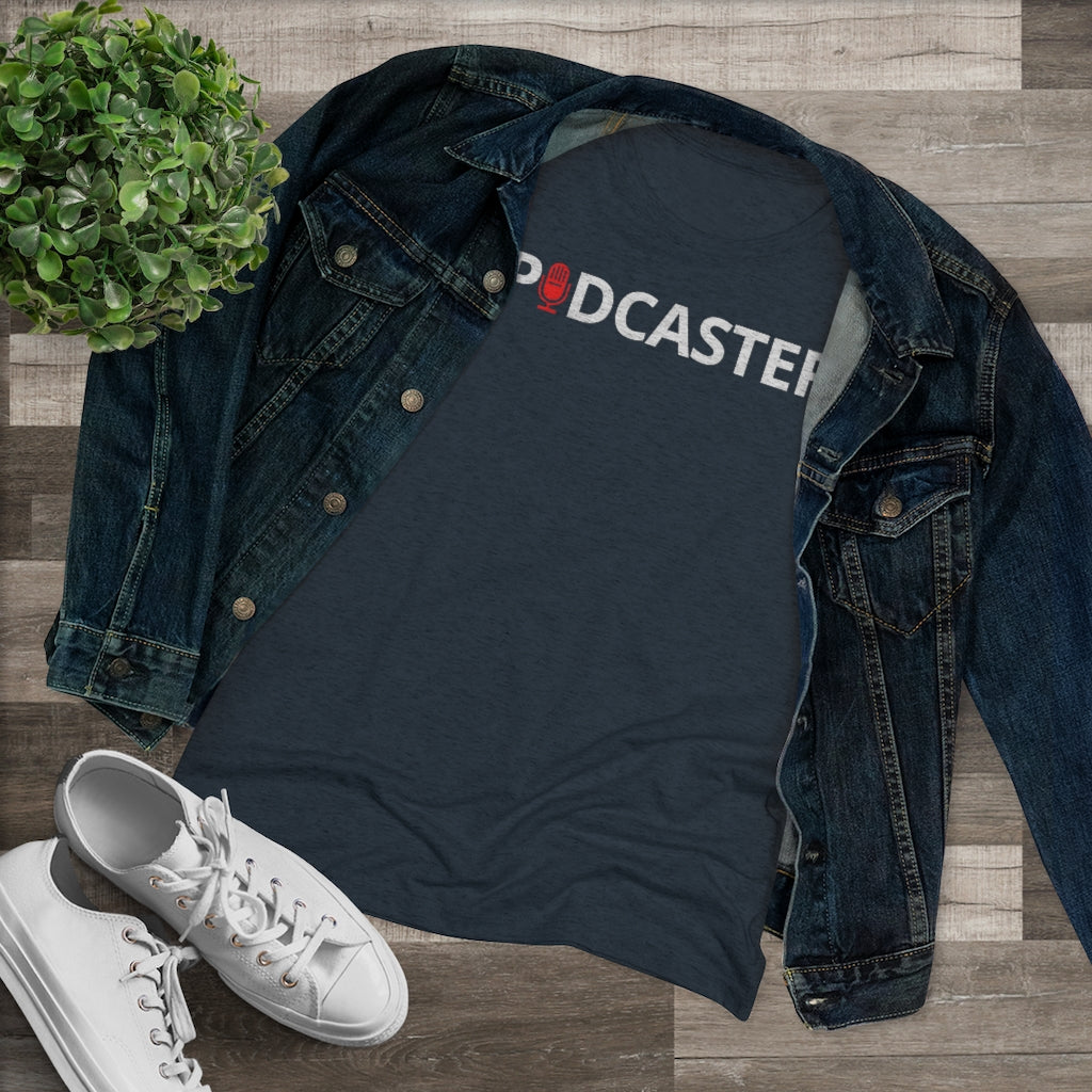 Simple Podcaster Tee (Womens)
