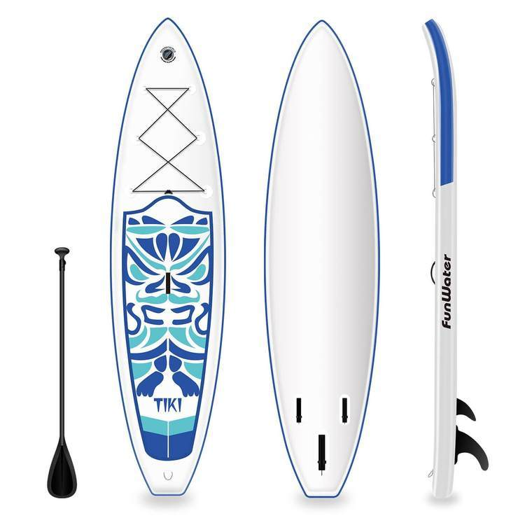 Funwater Tiki Inflatable Paddle Board SUP sup Funwater