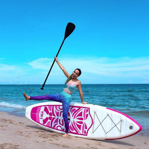 Funwater Tiki Inflatable Paddle Board SUP - Pink