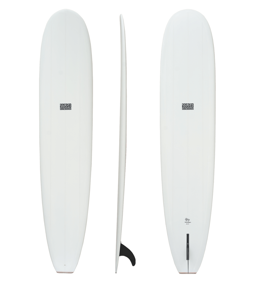 Island Duke 9'2 Surfboard (PU) surf Coastline International White