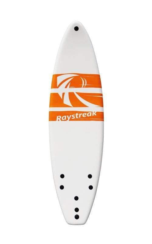 Raystreak Aggro Foam Surfboard 6' surf Beyoung White