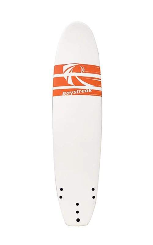 Raystreak Aggro Foam Surfboard 7'2'' surf Beyoung White