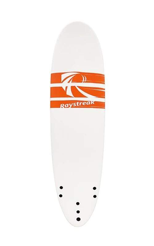 Raystreak Aggro Foam Surfboard 8'2'' surf Beyoung White