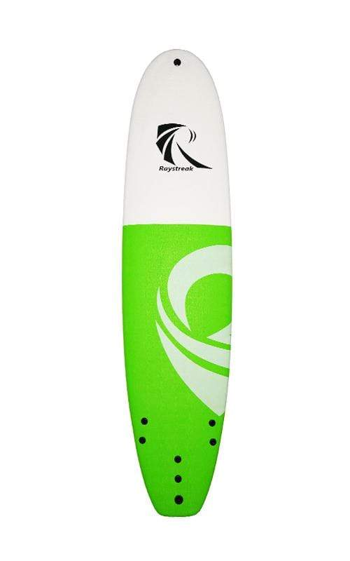 Beyoung surf Green Raystreak Impact Foam Surfboard 8'2''