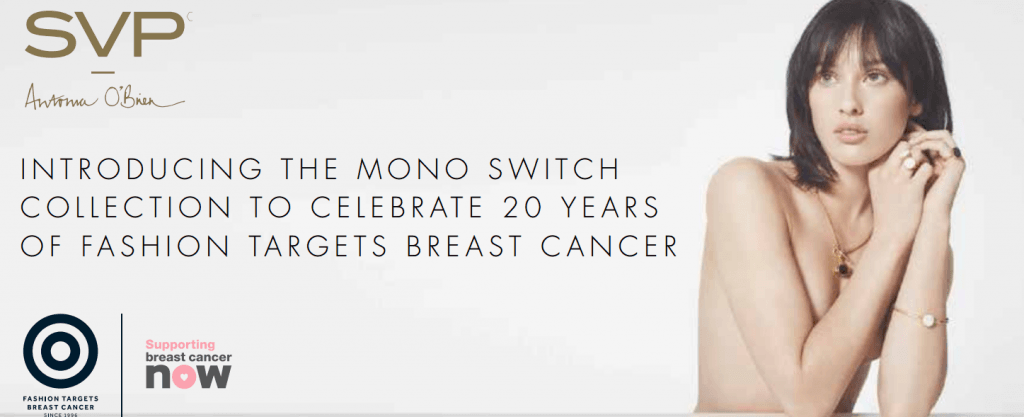 Mono Switch Collection for Fashion Targets Breast Cancer