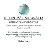 SVP Jewellery Green Marine Quartz