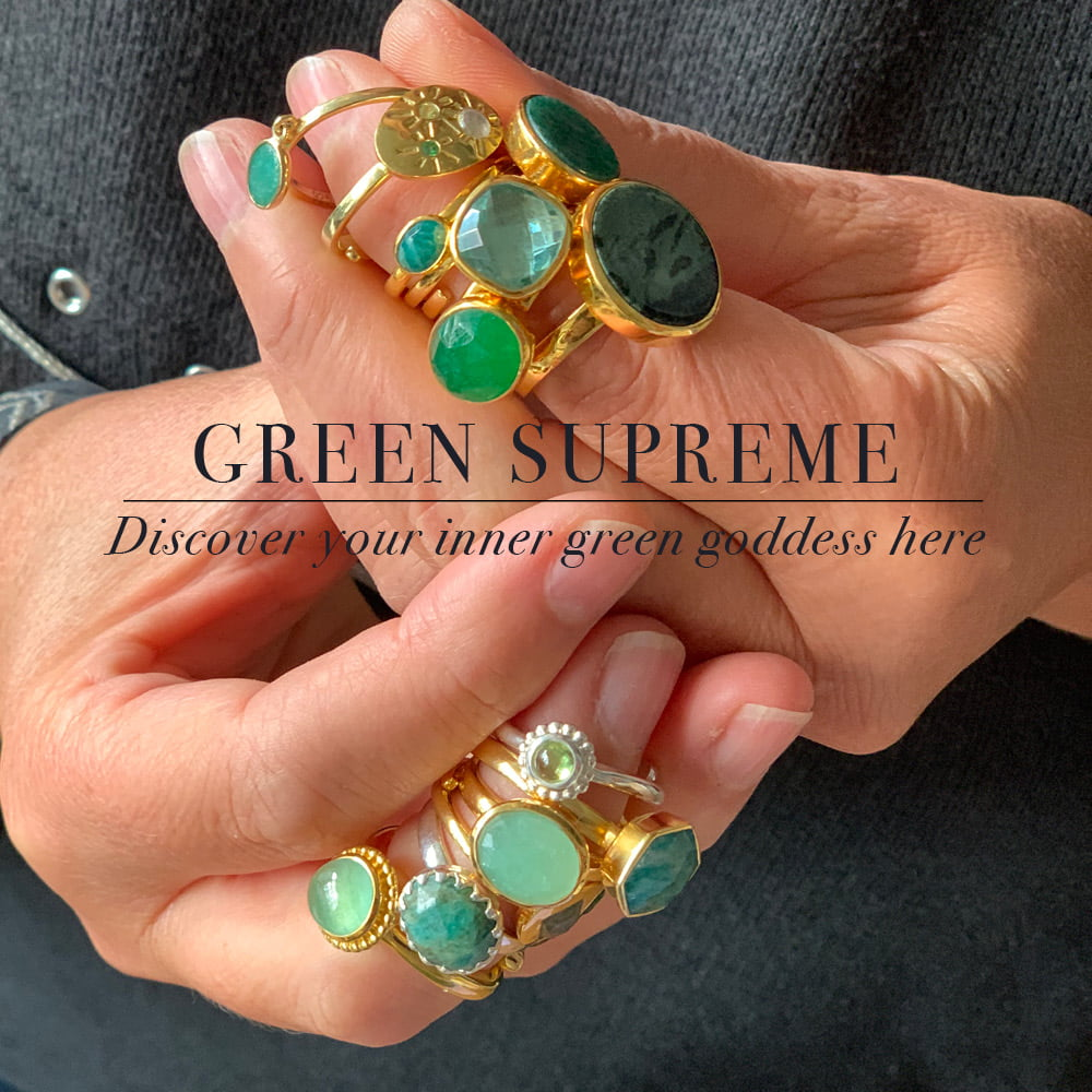 Green supreme. Discover your inner green goddess here