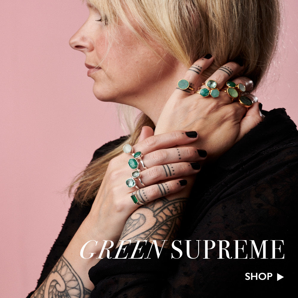 Green supreme. Shop green adjustable SVP rings