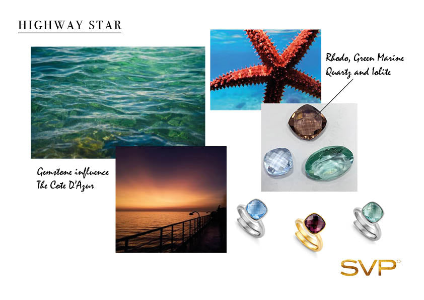 SVP Jewellery Highway Star adjustable ring collection