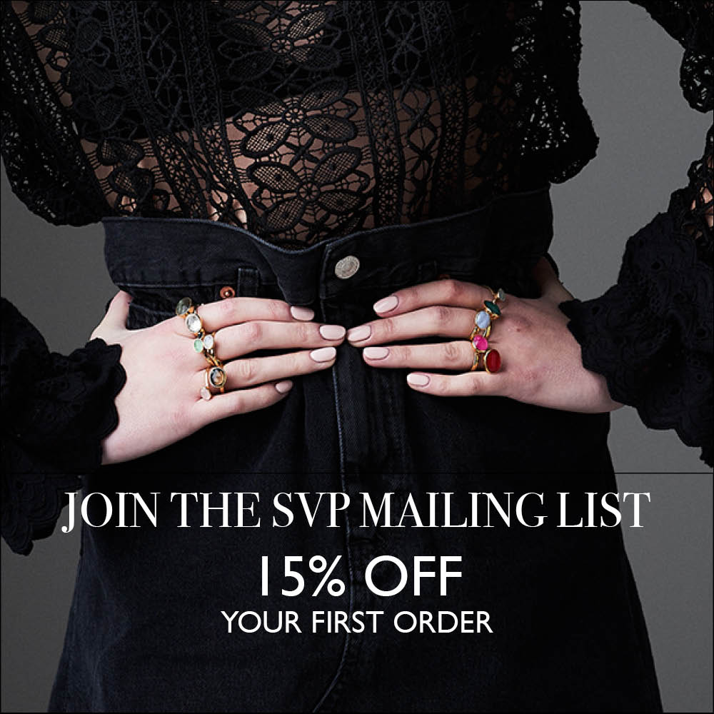 Join the SVP mailing list and receive 15% off