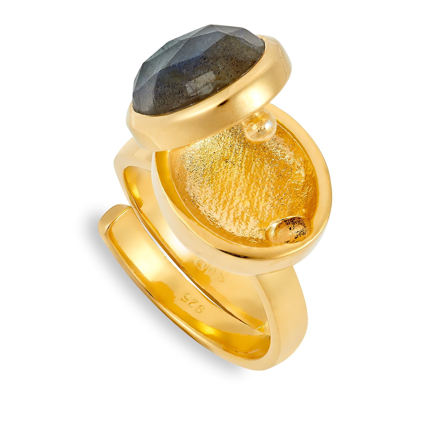 LLR02LAYV-Lucky-Locket-Labradorite-Gold-Vermeil-Open-SVP-Adjustable-Ring