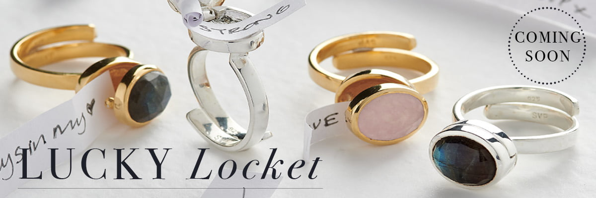 Lucky Locket adjustable ring coming soon by SVP Jewellery