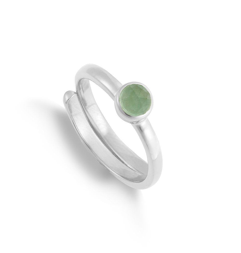 MHR01LGSS-Muthahood-Mini-Friendship-Green-Chalcedony-Sterling-Silver-SVP-Ring