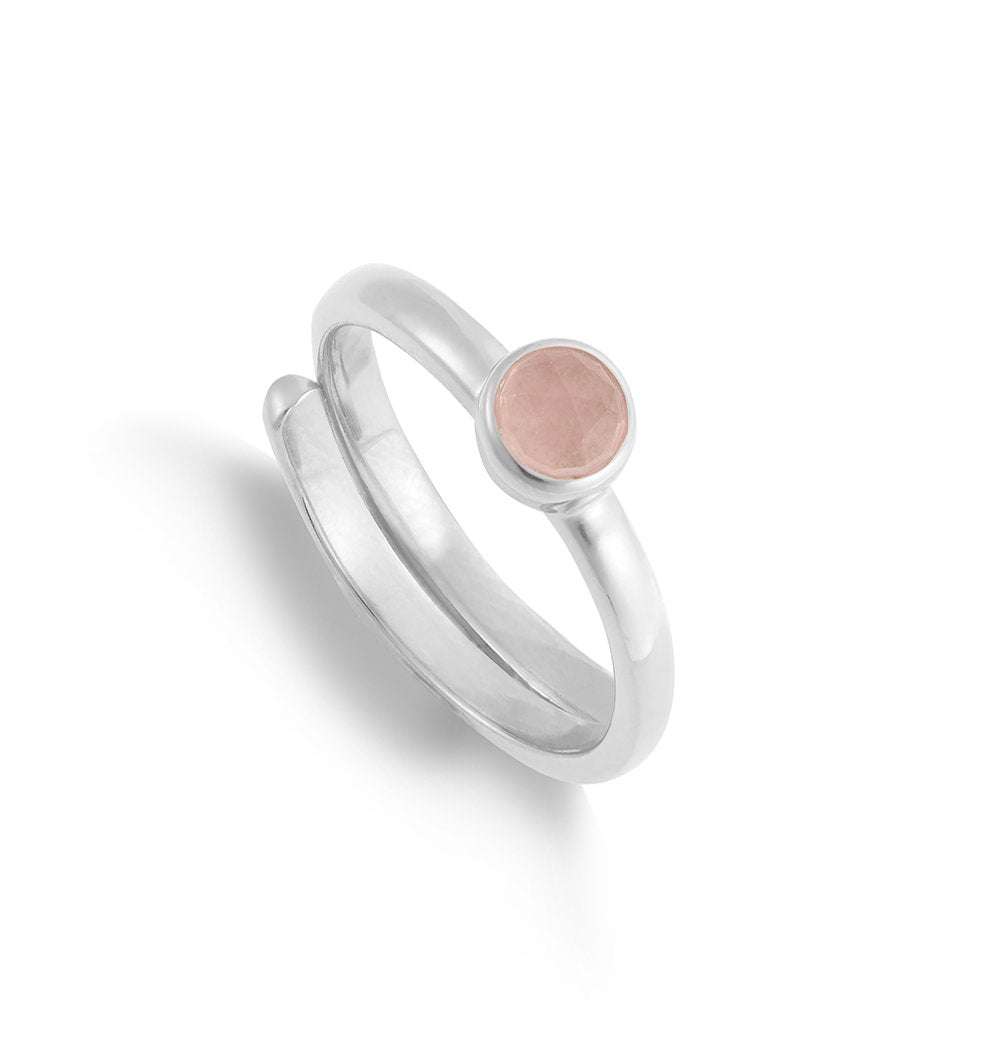 Muthahood-Strong-Girls-Club-Friendship-Ring-Rose-Quartz-Sterling-Silver