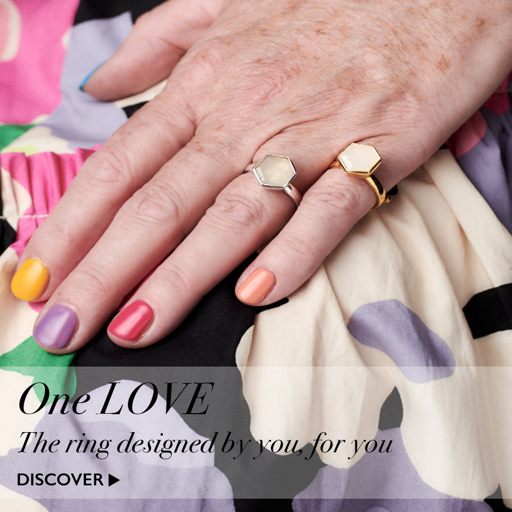 One Love, a ring designed by you for you. Discover here