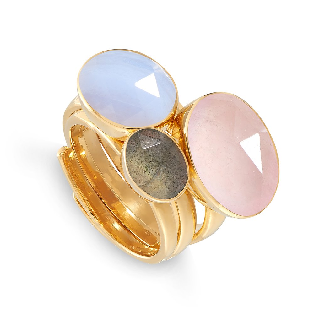 Pretty Baby Adjustable Ring Stack by SVP Jewellery