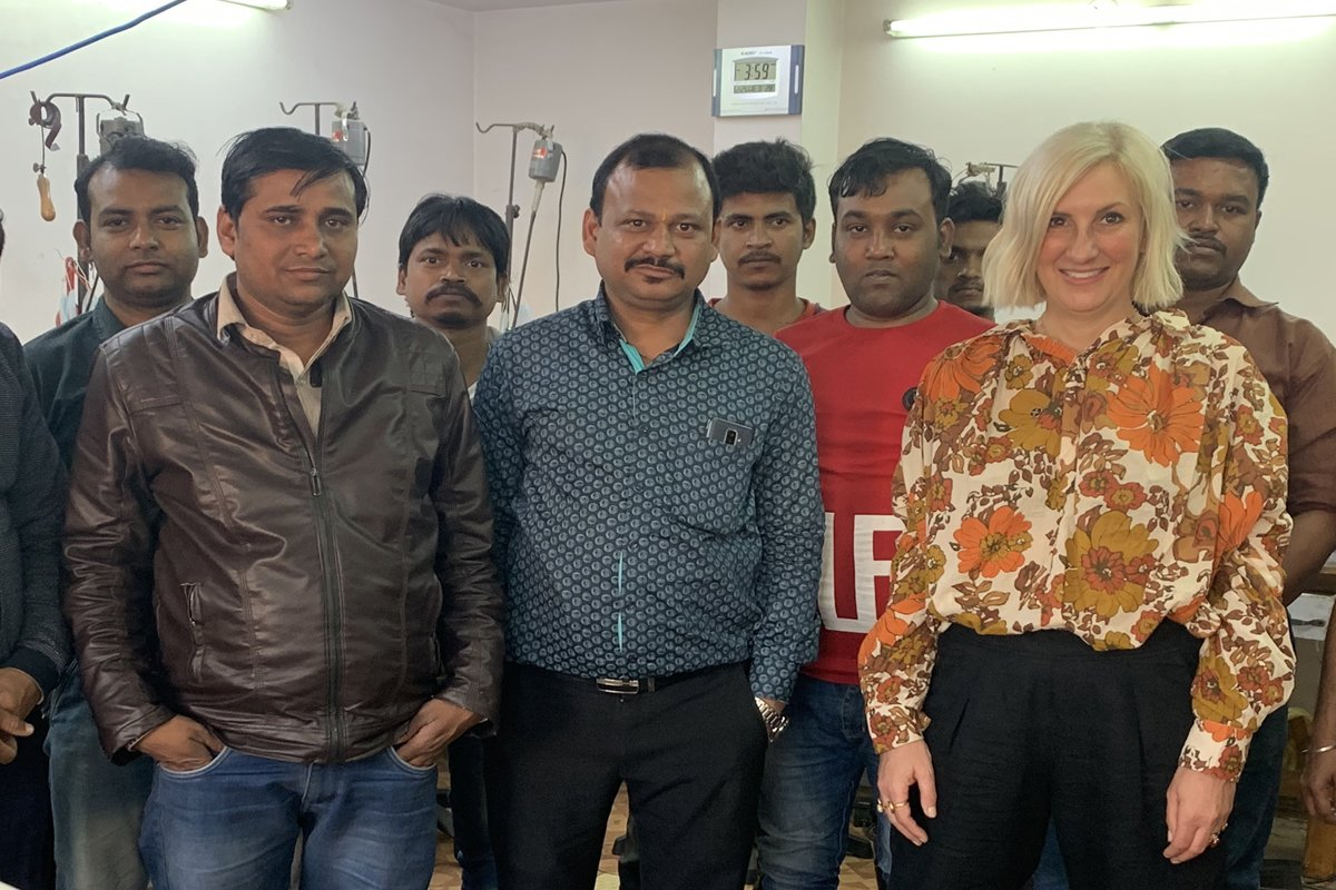 SVP Jewellery Team In India with Sarah Parham Queen of Rings