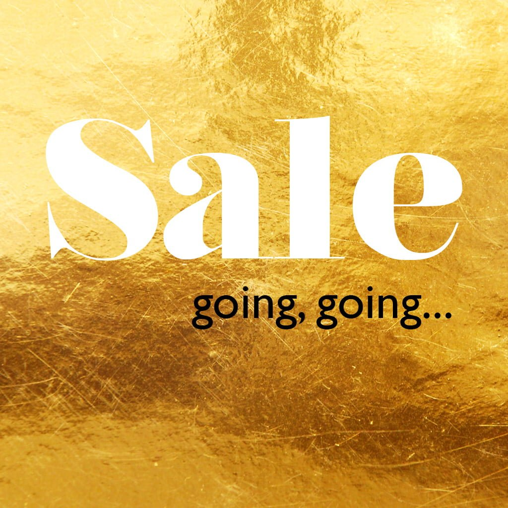 SVP Adjustable Rings Sale. Going, going...