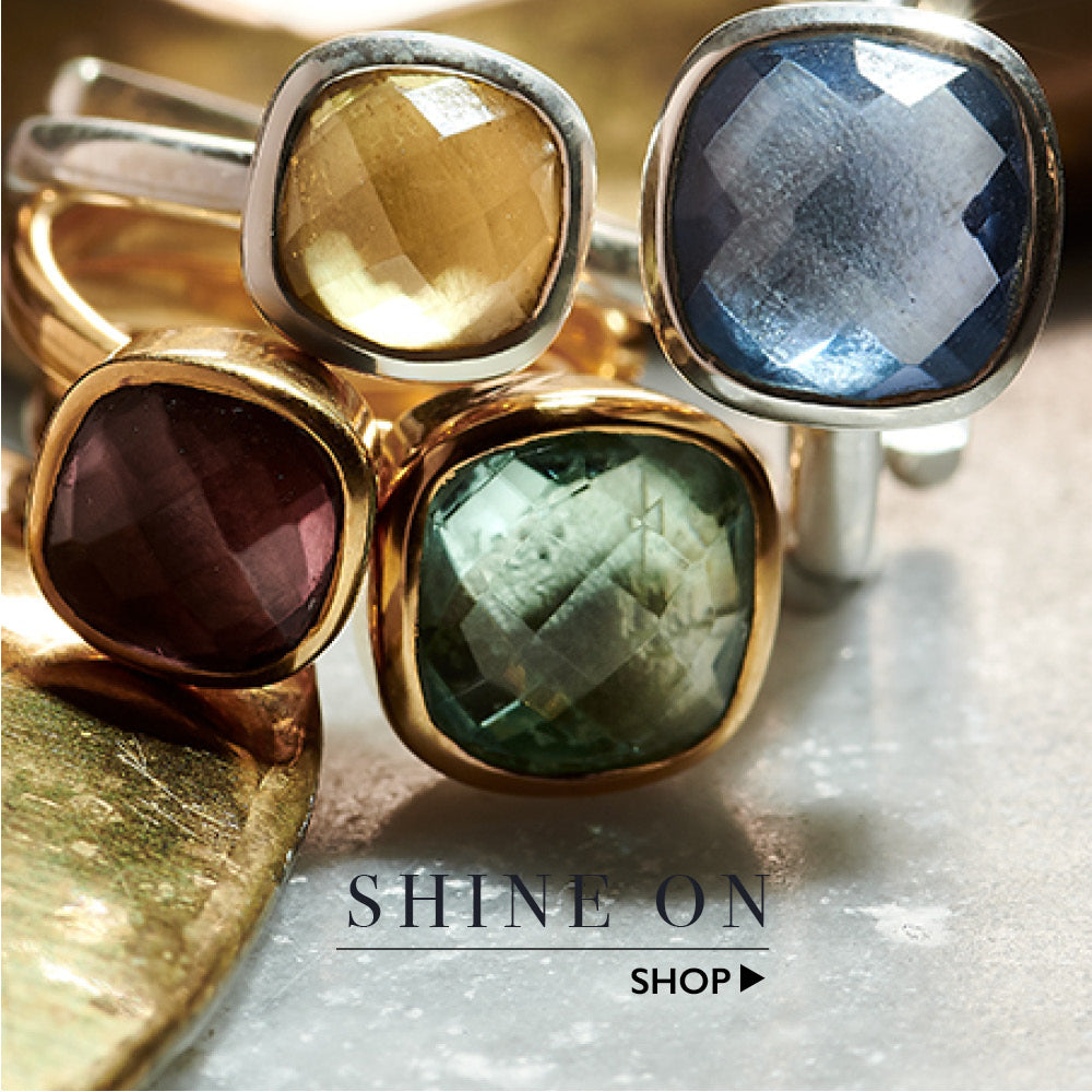 Shine on. Shop our adjustable SVP rings here