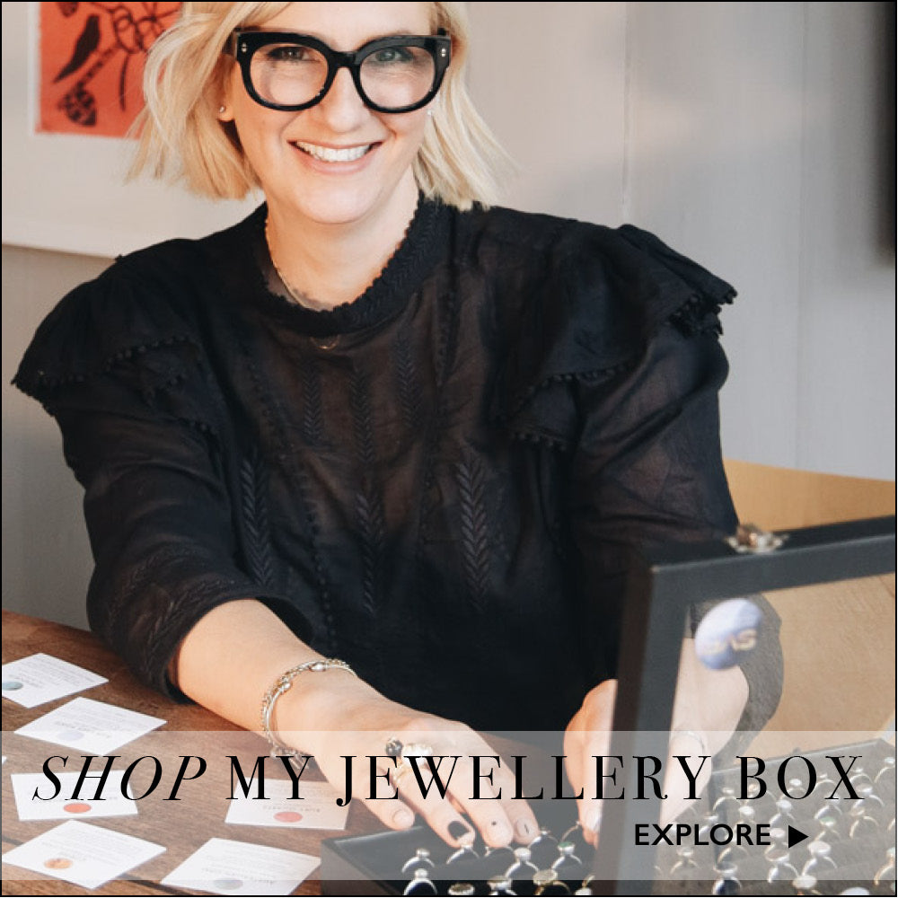 Shop the jewellery box of Sarah Parham Queen of Rings at SVP Jewellery