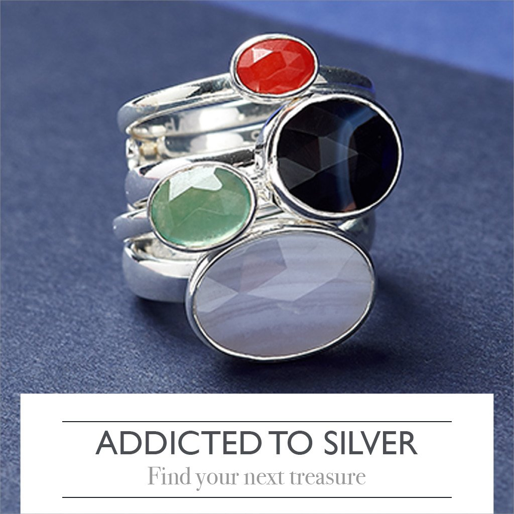 Addicted to silver. Find your next treasure here.