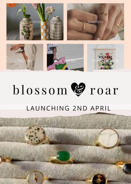 Blossom and Roar with SVP Jewellery adjustable rings