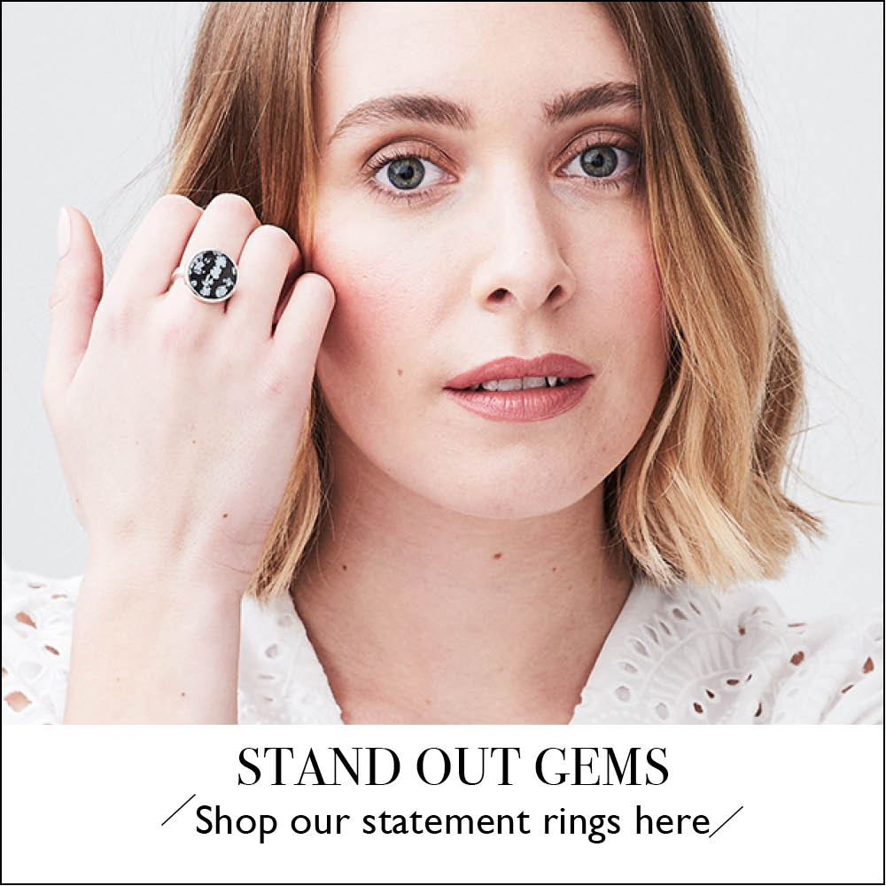 Statement Gems. Shop our statement gems here at SVP Jewellery.