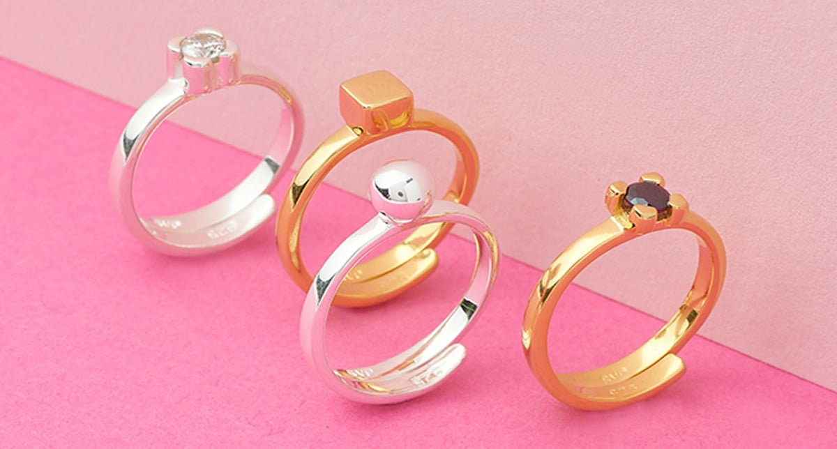 Whispering Hope adjustable rings by SVP Jewellery