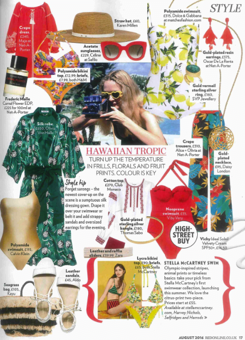 Red Magazine feature with SVP Jewellery