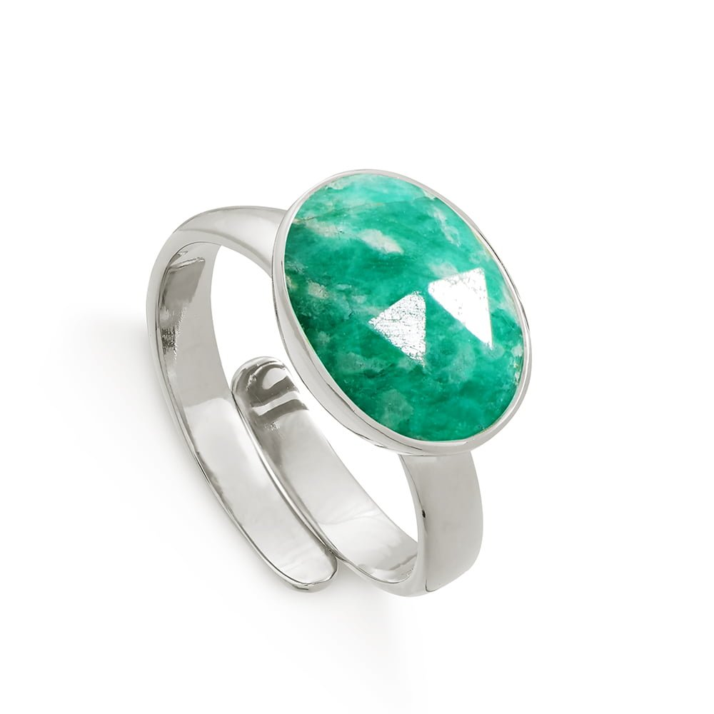 ATR01AZSS_Atomic_Maxi_Amazonite_Sterling_Silver_SVP_Adjustable_Ring