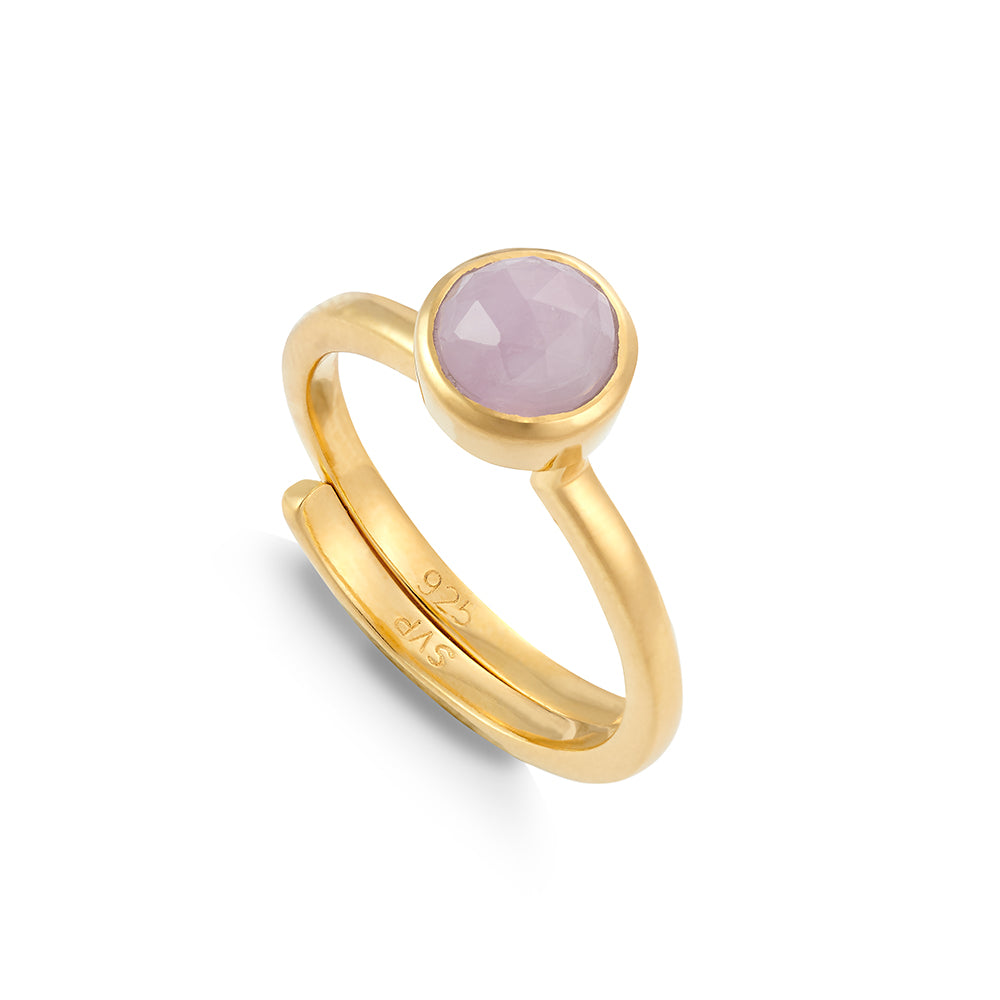 Shine On Hope Kunzite Gold Ring