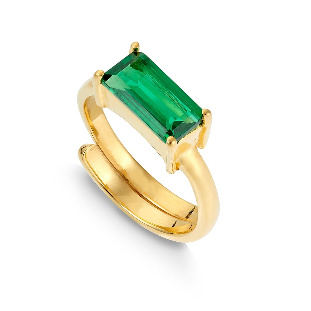 NVR01EMYV-Nirvana-Large-Dark-Emerald-Quartz-Gold-Vermeil-SVP-Ring