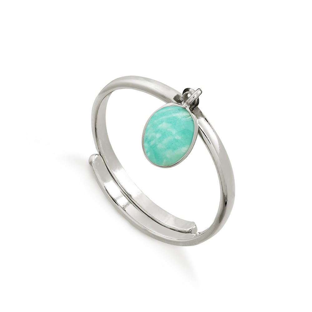 Rio Amazonite Silver Ring