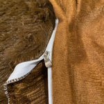Brown- Ultra soft velvet duvet cover + Pillowcases