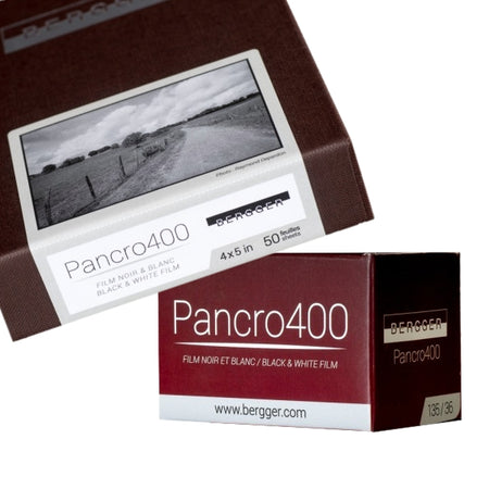 Bergger film, photo papers and chemistry are made to exceptionally high quality. The technology of Bergger Pancro 400 excels. Prestige papers allow perfect quality enlargements. Bergger chemistry supports the highest quality of printing on Bergger papers.