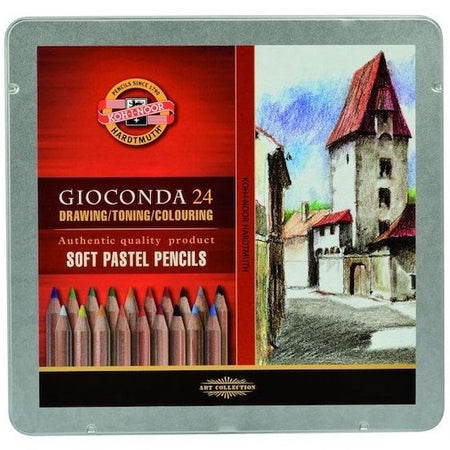 Koh I Noor Gioconda provides a wide range of proven quality art products for enthusiasts, professionals, and creative children's aids. , Pens, Pencils and Pastles are among the Koh I Noor favorites.